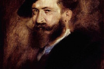 Wilhelm Busch Portrait by Franz von Lenbach